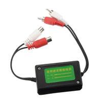 3.5mm Car RCA Amplifier Audio Noise Filter Ground Loop Isolator Suppressor