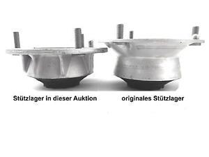 2x verstärkte Domlager 10mm Tieferlegung VA für BMW E90 E81 E46 E60