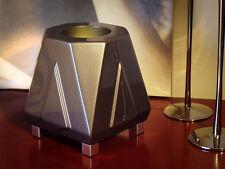 DECO MOOD LIGHTING UPLIGHTER TITANIUM GREY TABLE LIGHT FLOOR LAMP  LED RGB BULB
