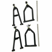 Stainless Front A-arms+2+1 Wider Extender For 1987-06 Yamaha Banshee 350 YFZ350