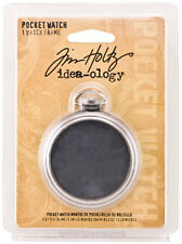 Tim Holtz Idea-ology Pocket Watch Frame Embellishments Ideaology TH92910