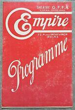 Programme EMPIRE Reims UN SOIR AU FRONT Alexandre Ryder PONT DU ROI St LOUIS