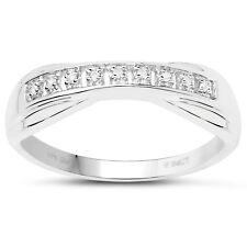 9ct White Gold 6mm Channel Set Diamond Eternity Ring Size HIJKLMNOPQRSTUVW