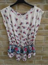 River Island Cap Sleeve Floral Tops & Shirts for Women