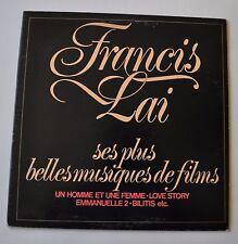 FRANCIS LAI Best of Film LP Record OST Emmanuelle/Love Story ++