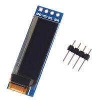 """iic i2c 0.91"""" 128x32 blue oled lcd display module 3.3v 5v for arduino _SP"""