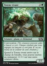 MTG Magic M15 FOIL - Living Totem/Totem vivant, French/VF