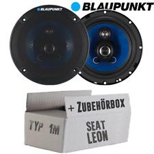 Lautsprecher Boxen Blaupunkt 3-Wege Auto Einbauset für Seat Leon 1M Front/Heck