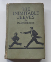 Vintage Book P G Wodehouse - The Inimitable Jeeves -  4th Printing c1926