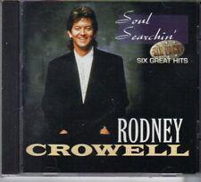 Rodney Crowell Soul Searchin cd 6 tracks 1997