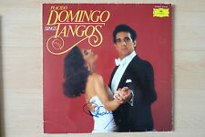 "Placido Domingo Autogramm signed LP-Cover ""Placido Domingo Sings Tangos"" Vinyl"