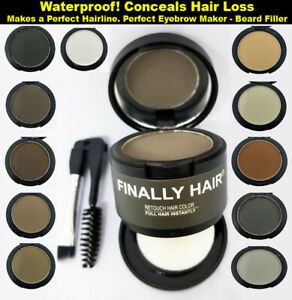 Finally Hair Dab-on Hair Fibers & Loss Concealer, Hairline & Eyebrow Creator NEW