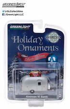 Greenlight 29916 1/64 Airstream 16' Bambi Silver Edition Holiday Ornament