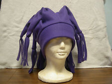 8 Point Fleece Jester Hat Adult/Childs  (Pick your own solid colors)