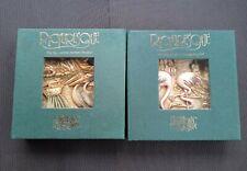 X2 Picturesque Harmony Kingdom Noahs Park Tile Magnets