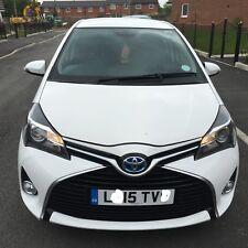 2015 Toyota Yaris 1.5 Hybrid Icon Auto Satnav 5DR CVT Hybrid (Petrol/Electric)