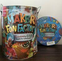 Maker Fun Factory VBS starter kit 2017 Vacation Bible School ~ Group kids church