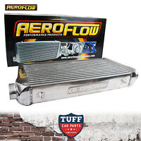 "Aeroflow 600x300x100 Alloy Intercooler Polished with 3"" Inlet Outlet AF90-1004"