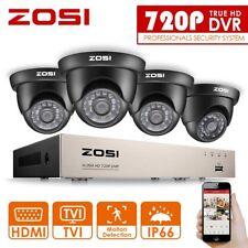 ZOSI 8CH HD 720P DVR Outdoor Überwachungskamera Set CCTV Videoüberwachung System