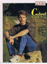 COUPURE DE PRESSE CLIPPING 1994 FRANCIS CABREL (3 pages)