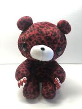 "CHAX GP Gloomy Bear Magenta Leopard Animal Ver CGP-107 Plush Toy Taito Japan 9"""