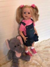 Reborn Toddler Girl Doll Fritzi by Karola Wegerich Custom Order