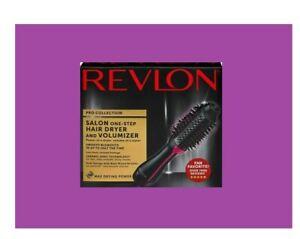 Revlon One-Step Hair Dryer And Volumizer Hot Air Brush, Black/Pink FREE SHIPPING