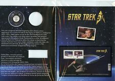 2016 CANADA STAR TREK STAMP & COIN SET! NO COIN!! 3 CANADA STAR TREK STAMPS!