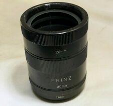 Prinz M42 macro tubes for Pentax lenses