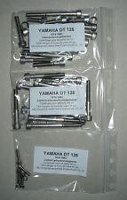 YAMAHA DT 125 E F 1974-1979 Motor Inbus Rostfrei Schaubensatz DTE DTF