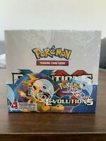 Pokemon TCG 2016 XY Evolutions Booster Box - SEALED (Ships with display case)