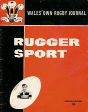 RUGGER SPORT / WELSH RUGBY MAG 8th Edition April 1962 Cardiff RFC Waunarlwydd