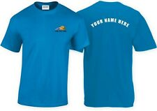 Fishing Club T-shirt with customised logo! Back print also available! Design 3