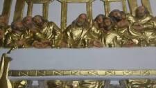 Groß Relief Das letzte Abendmahl von Leonardo da Vinci Stuck gips Skulptur Lux