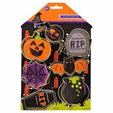 New ! Wilton Halloween 7 Pieces Cookie Cutter Set