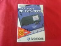 Nintendo Gamecube Broadband Adapter Box DOL-015 Official Region Free GC JAPAN