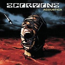 Scorpions - Acoustica - NEW CD (sealed)   Live Acoustic Concert 2001