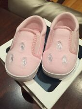Ralph Lauren Layette Infant Girl Pink Cotton Jersey Bal Harbour Nib Size 4