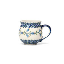 Bunzlauer Keramik Kugelbecher 200 ml Dekor ASD