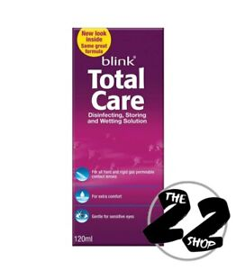 Blink TotalCare Disinfecting, Storing & Wetting Solution - 10ml Expiry 2021/03