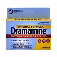 Dramamine Original Formula Tablets 36 ea