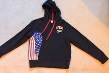 Speedo Medium USA unisex American Flag hoodie