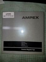 """AMPEX 1/4"""" 2000' 7"""" REEL PRECISION MAGNETIC RECORDING TAPE 704-151411 NEW/SEALED"""