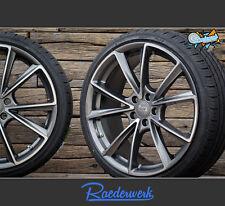Audi A4 S4 B8 B9 A6 4F Avant Limousine RS Design Sommerräder 18 Zoll MAM A5 grau