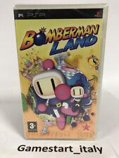 BOMBERMAN LAND SONY PSP - VIDEOGIOCO NUOVO SIGILLATO - NEW SEALED PAL VERSION