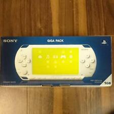 Gigapack Ceramic White (PSP - 1000G1CW) sony game japan rare