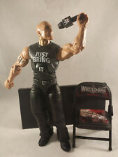 THE ROCK WWE Elite Collection Then Now Forever With All Accessories