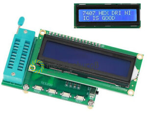 IC Tester Digital Meter 74 40 45 Series lC Logic Gate Tester