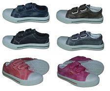 Boys' Free! Plimsolls Shoes with Hook & Loop Fasteners
