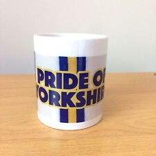 Pride Of Yorkshire Leeds United Printed Novelty Mug Ideal Fathers Day Gift